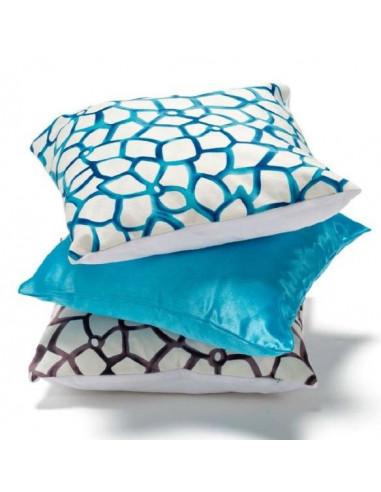Cuscino decoro cielo colore bianco blu cm 40x40 - Home design decoro shopping ...