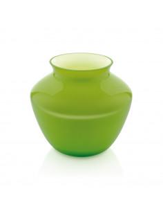 Vaso Orchid H. 20,5 Cm. Incamiciato Verde - 7623.1 - IVV - Industria Vetraria Valdarnese - Vasi