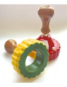 Tagliaravioli Margerita Disco Con Espulsore A Molla Diam. 90 Mm - 275 - - Macchina per la pasta e Accessori