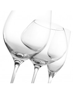 Vizio Set 6 Pz. Calice Vino Rosso H.25.5 Cl.66 Trasparente - 8173.1 - IVV - Industria Vetraria Valdarnese - Bicchieri e Ca...