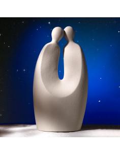 Segno Zodiacale Gemelli In Gres Porcellanato - NZ642 - Linea Sette Ceramiche - Oggettistica per Casa