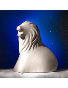 Segno Zodiacale Leone In Gres Porcellanato - NZ644 - Linea Sette Ceramiche - Oggettistica per Casa
