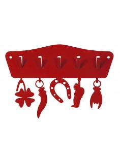 Porta Chiavi Toccaferro Rosso - 0970C75 - Arti e Mestieri - Appendichiavi