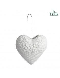Umidificatore Cuore/fiori Leopoldina - P600100008 - La Porcellana Bianca - Oggettistica per Casa