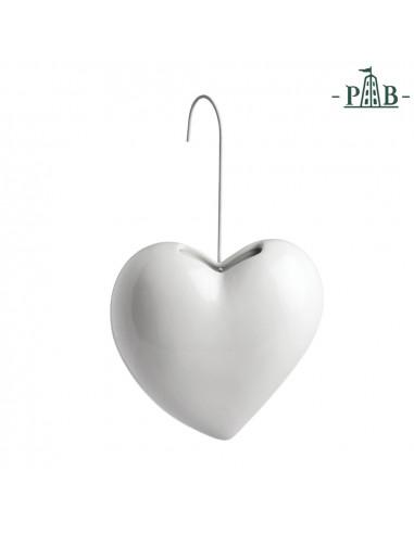 Umidificatore Cuore Leopoldina - P600100007 - La Porcellana Bianca - Oggettistica per Casa