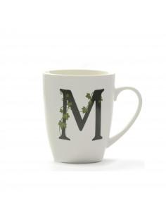 Mug Atupertu Lettera M - P00350149M - La Porcellana Bianca - Tazze Caffe, Te e Latte