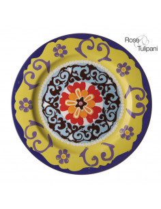 Vassoio Rotondo Cm. 30 Nador - R133000006 - Rose e Tulipani - Antipastiere e Vassoi