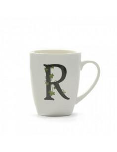 Mug Atupertu Lettera R - P00350149R - La Porcellana Bianca - Tazze Caffe, Te e Latte
