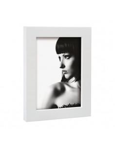 Portafoto In Legno Bianco Mascagni Cm. 13x18 - 2IQM882 - Mascagni - Portafoto