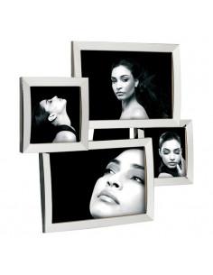 Portafoto Multiplo In Metallo Lucido Mascagni - 2WAM470 - Mascagni - Portafoto