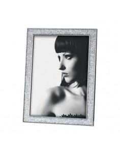 Portafoto In Metallo Con Glitter Cm. 20x25 - 2OAM406 - Mascagni - Portafoto
