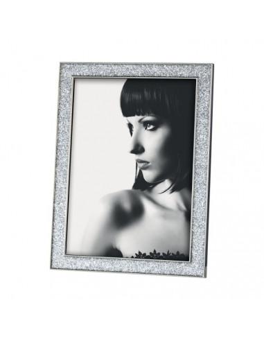 Portafoto in metallo con glitter cm 13x18 - Portafoto 13x18 ...