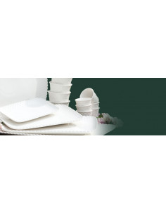 Vassoio Pasticceria 20x13 Momenti - P002800420 - La Porcellana Bianca - Antipastiere e Vassoi