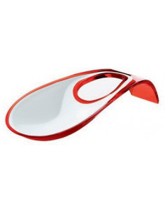 Poggiamestolo Bicolore Latina Colore Rosso 65 - 28560065 - Guzzini - Poggiamestoli e Sottopentola