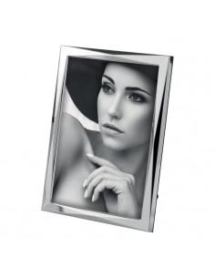 Portafoto In Metallo Lucido Cm. 20x25 A188 - 2OAA188 - Mascagni - Portafoto