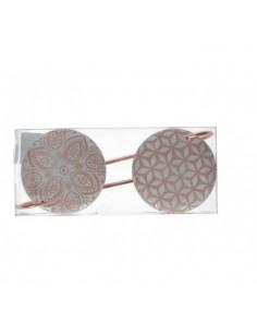 Gancio Appendino Hooks Ceramica Pink Grande - 2 Pz - KAM0225 - Schonherr - Oggettistica per Casa