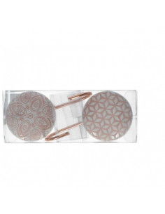 Gancio Appendino Hooks Ceramica Pink Piccolo - 2 Pz - KAM0226 - Schonherr - Oggettistica per Casa