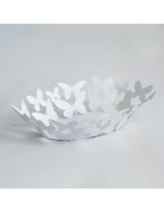 Centrotavola Butterfly Ovale Bianco - 0FR2890C26 - Arti e Mestieri - Centrotavola