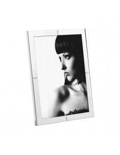 Portafoto In Metallo Lucido Con Glitter Cm. 20x25 A538 - 2OAA538 - Mascagni - Portafoto