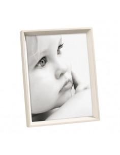 Portafoto In Legno Massello Eco Sostenibile Colore Sbiancato Cm. 20x30 - 2UQA754 - Mascagni - Portafoto
