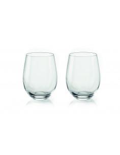 Set 2 Bicchieri Vino In Vetro My Fusion - 10620000 - Guzzini - Bicchieri e Calici