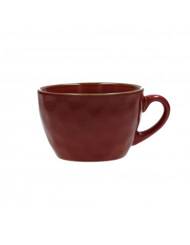 Concerto Rosso Malaga Tazza Colazione 420cc - R134500028 - Rose e Tulipani - Tazze Caffe, Te e Latte