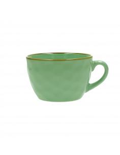 Concerto Verde Acqua Tazza Colazione 420cc - R134600028 - Rose e Tulipani - Tazze Caffe, Te e Latte