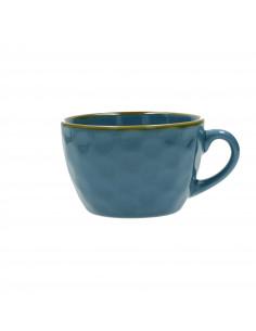 Concerto Blu Avio Tazza Colazione 420cc - R134100028 - Rose e Tulipani - Tazze Caffe, Te e Latte