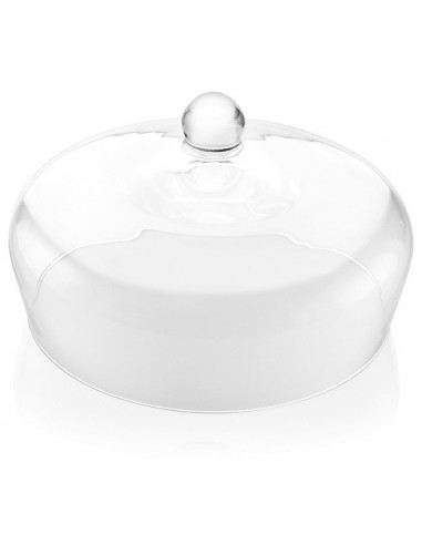 Le Campane Campana H.18 Diam 28 Trasparente - 4252.1 - IVV - Industria Vetraria Valdarnese - Copri torta