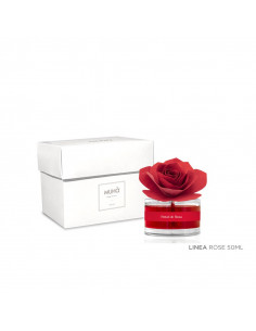 Profumatore D'ambiente Rosa Diffuser Petali Di Rosa 50 Ml - L14 - Muhà - Oggettistica per Casa