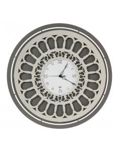 Orologio Rosone Lux Fango Avorio - OR3302C135 - Arti e Mestieri - Orologi da parete