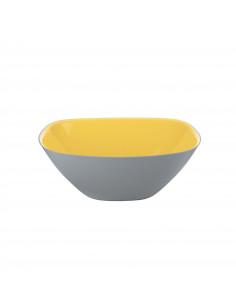 Insalatiera Bicolore Cm. 20 Giallo/Grigio Vintage Plus - 235520203 - Guzzini - Insalatiere e Ciotole