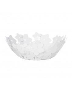 Centro Tavola Grande Floreale Fior Di Loto Bianco Marmo - 0VA3331C158 - Arti e Mestieri - Centrotavola