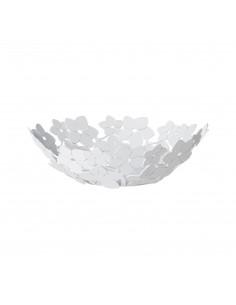 Centro Tavola Piccolo Floreale Fior Di Loto Bianco Marmo - 0VA3332C158 - Arti e Mestieri - Centrotavola