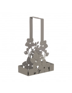 Porta Bicchieri Floreale Di Design Fior Di Loto Fango - 0VA3326C18 - Arti e Mestieri - Portabicchieri