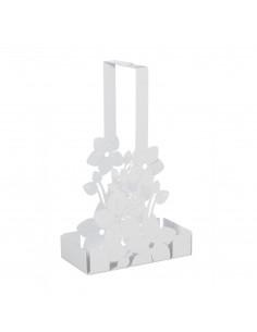 Porta Bicchieri Floreale Di Design Fior Di Loto Bianco Marmo - 0VA3326C158 - Arti e Mestieri - Portabicchieri