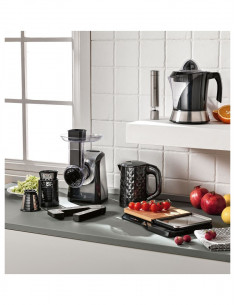 Bollitore Black Diamond Technocollection 600 Ml Inox/pp - 52207 - Brandani - ELETTRODOMESTICI