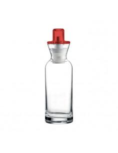"""Oliera/ Acetiera \\""""Perfect Dressing\\"""" Rosso Trasparente - 16960165 - Guzzini - Olio, Aceto, Sale e Pepe"""