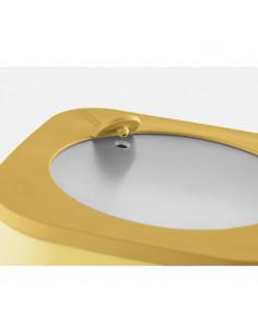 Store&more - Contenitore Ermetico Alto Per Frigo/ Freezer/ Microonde (S) Ocra - 170701165 - Guzzini - Insalatiere e Ciotole