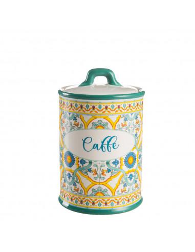 Ortigia Barattolo Caffè Stoneware Montemaggi