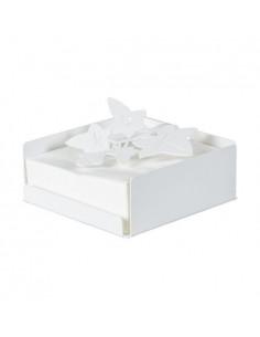 Porta Tovaglioli Edera Bianco - 0PS3078C26 - Arti e Mestieri - Portarotolo e Portatovaglioli