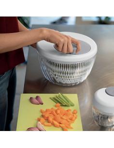 SPIN&STORE Centrifuga insalata con coperchio ø26 Bianco