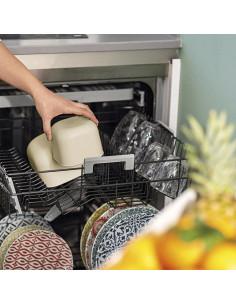 Store&more - Contenitore Ermetico Basso Per Frigo/ Freezer/ Microonde (S) Argilla
