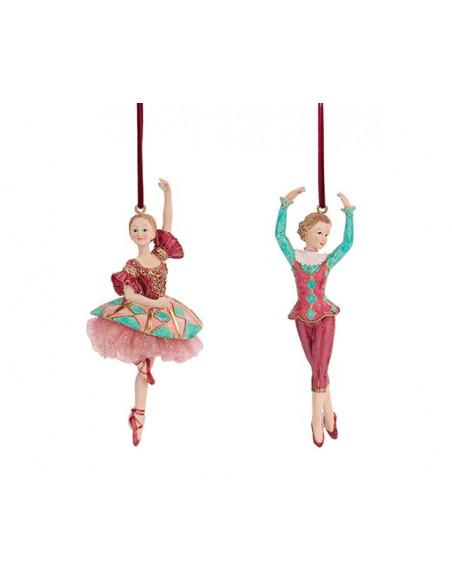 Lo Schiaccianoci - Ballerina Da Appendere In Resina 1Pz