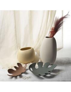 Vaso Piccolo HELLO Matisse Colore Grano In Gres Porcellanato Lineasette - 1pz