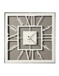 Orologio Da Muro Di Design Tauro Fango Avorio