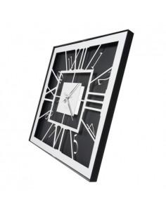Orologio Da Muro Di Design Tauro Nero Bianco Marmo