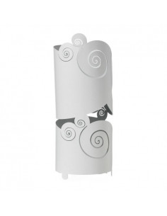 Porta Ombrelli Da Ingresso Di Design Circeo Bianco Marmo