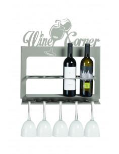 Porta Bottiglie Di Design Moderno Wine Corner Beige
