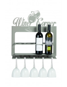 Porta Bottiglie Di Design Moderno Wine Corner Fango
